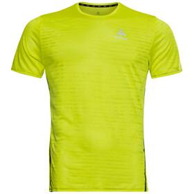 Odlo Zeroweight Engineered CT T-Shirt S/S Crew Neck Men, verde